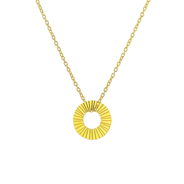 Gold Surfside Necklace-Pendant-One & Eight-Totem Store