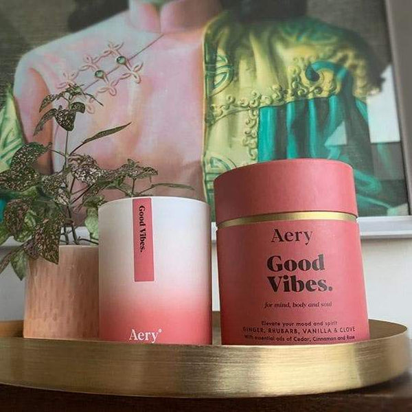 Good Vibes - Candle - Aery - Totem Store