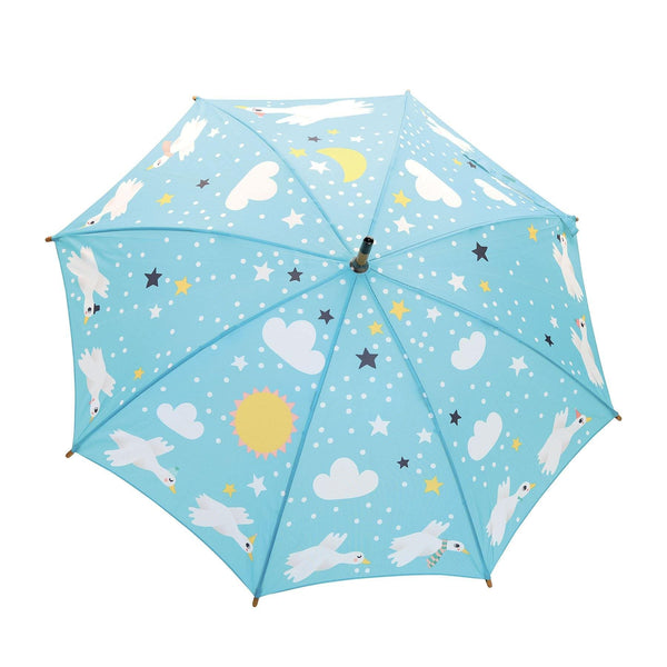 Goose umbrella by Michelle Carlslund - Kids Umbrella - Vilac - Totem Store