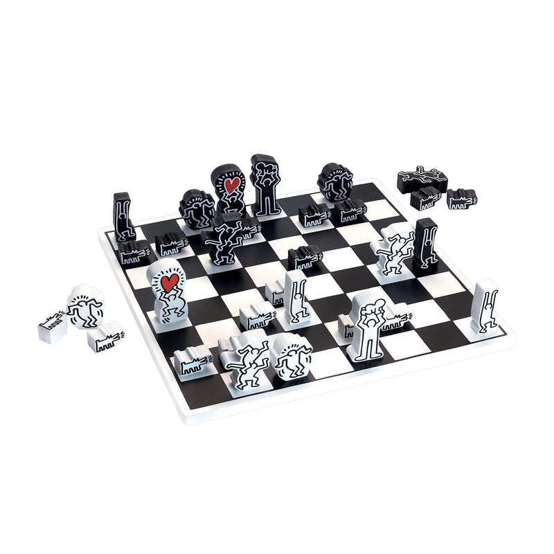 Keith Haring chess game-Game-Vilac-Totem Store