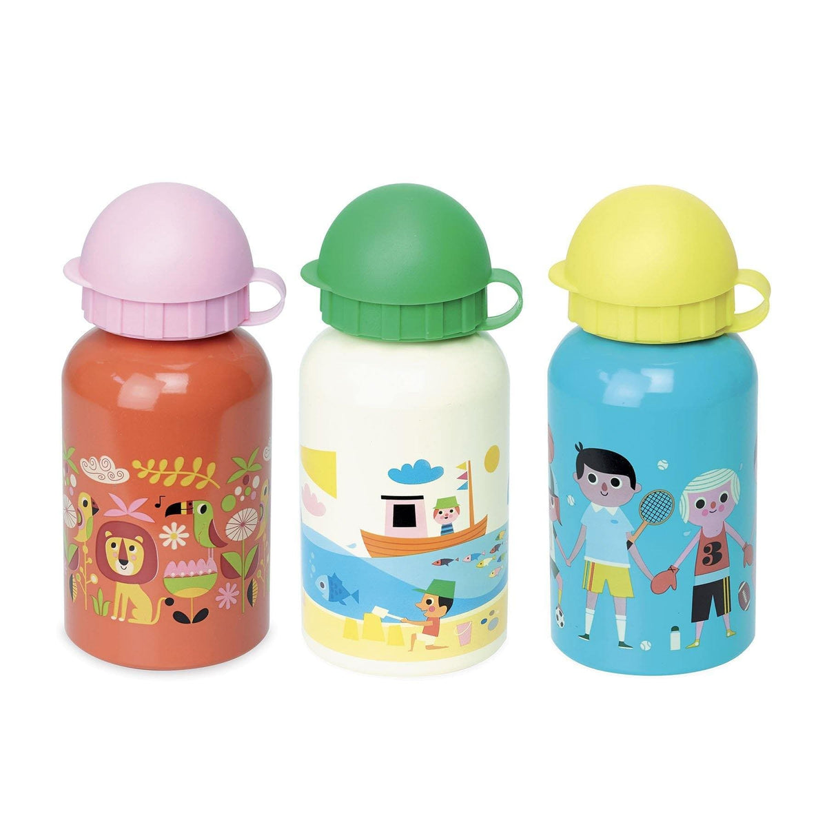 Kids Water Bottle football by Ingela P.Arrhenius-Water Bottle-Vilac-Totem Store