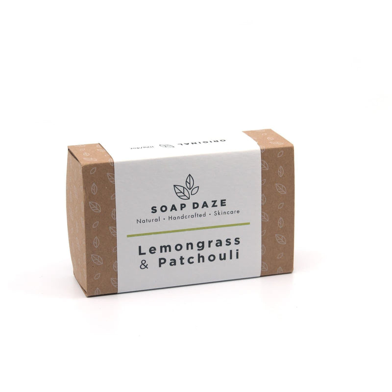 Lemongrass & Patchouli - Soap Bar - Soap Daze - Totem Store