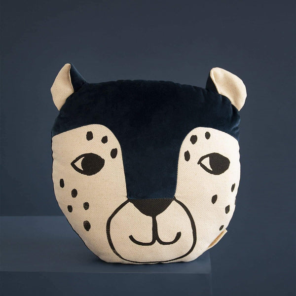 Leopard Animal Cushion-Cushion-Nobodinoz-Totem Store