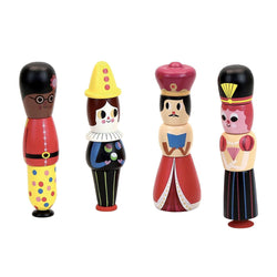 Magnetic characters stacking set by Ingela P.Arrhenius - Learning Toy - Vilac - Totem Store