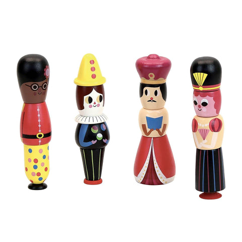 Magnetic characters stacking set by Ingela P.Arrhenius-Learning Toy-Vilac-Totem Store