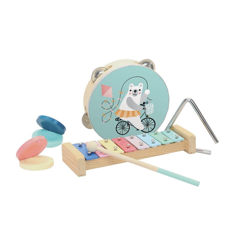 Musical instruments set by Michelle Carlslund-Musical Toy-Vilac-Totem Store