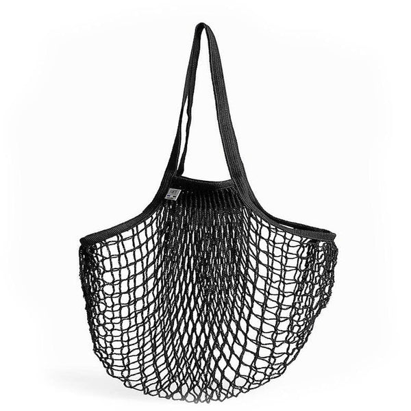 Net Shopping Bag-Shopping Bag-Filt-Black-Totem Store