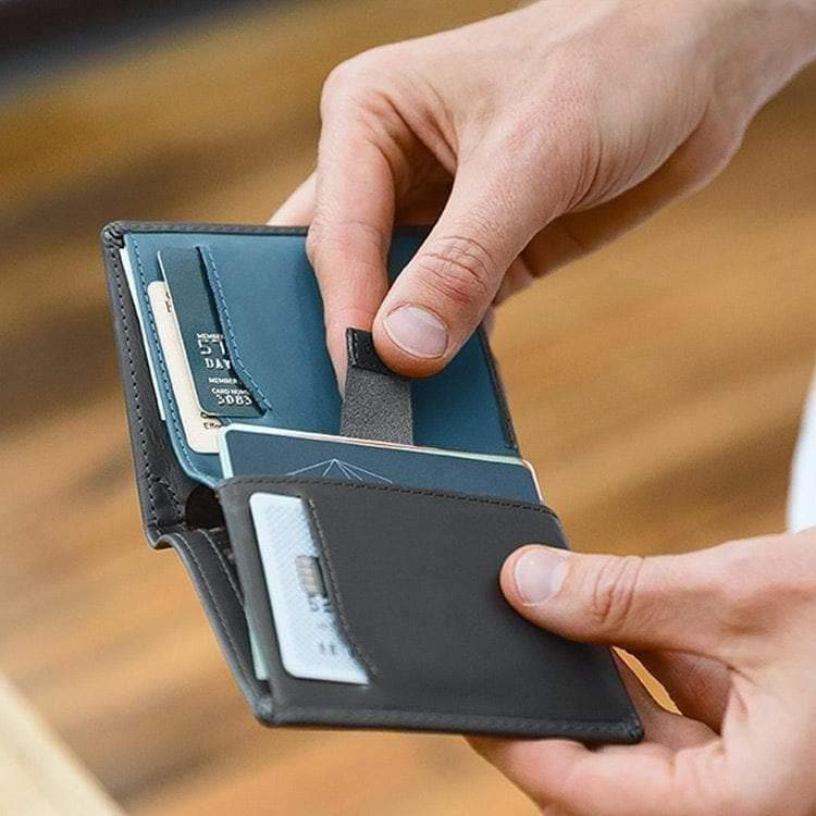 Note Sleeve Charcoal-Wallet-Bellroy-Totem Store