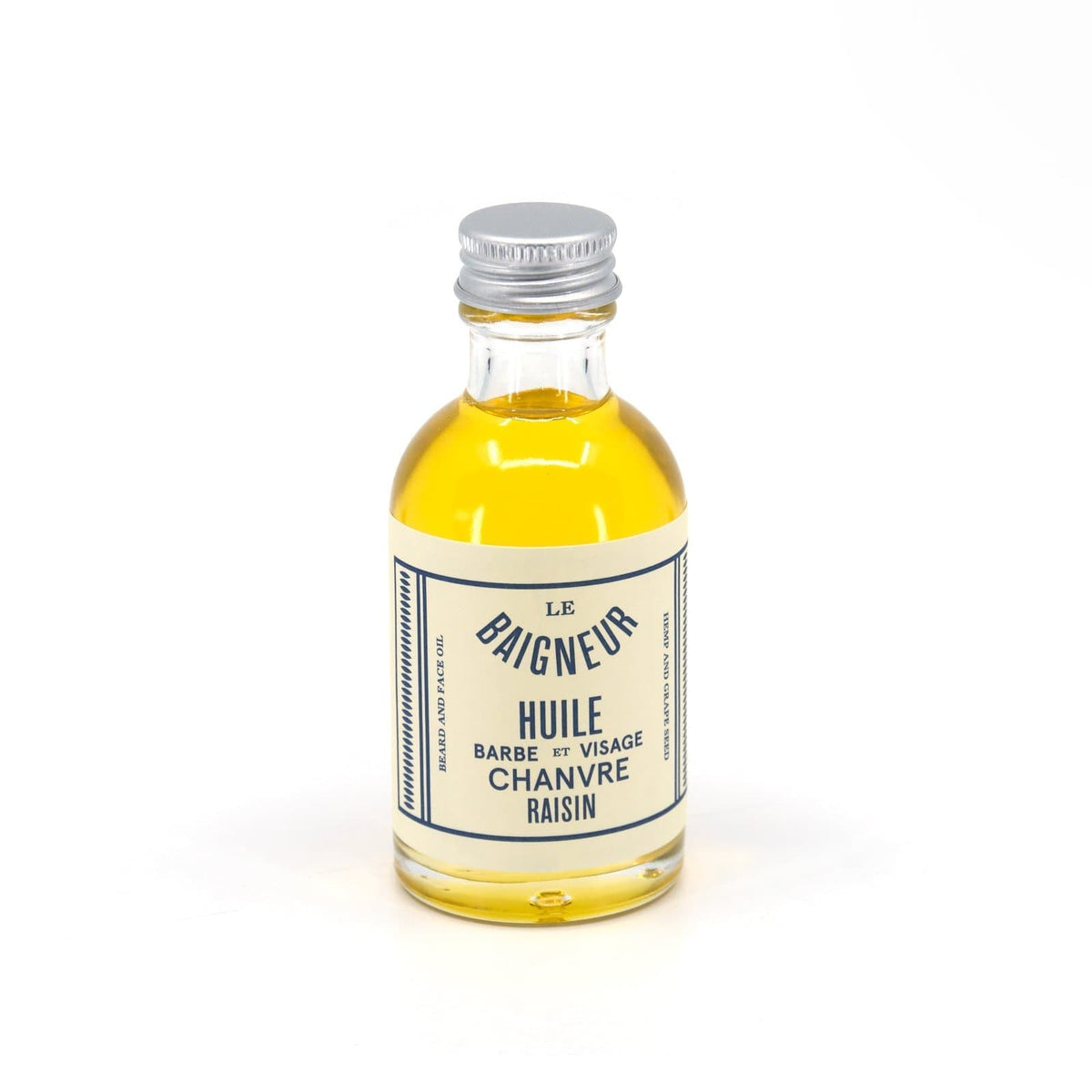 Organic Hemp & Grape Seed Beard Oil-Beard Oil-Le Baigneur-Totem Store