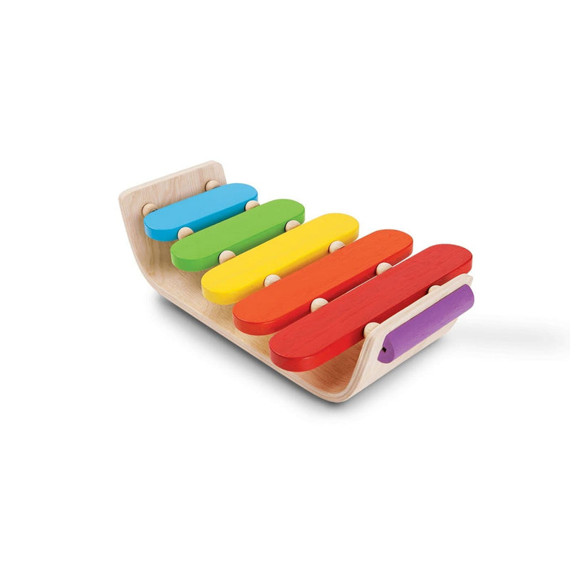 Oval Xylophone-Xylophone-Plan Toys-Totem Store