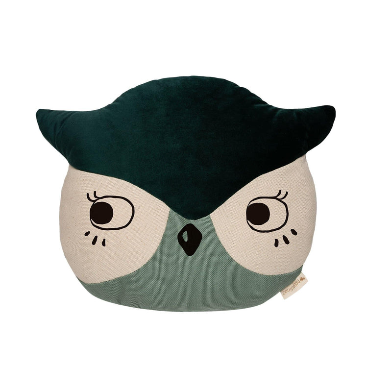 Owl Animal Cushion-Cushion-Nobodinoz-Totem Store