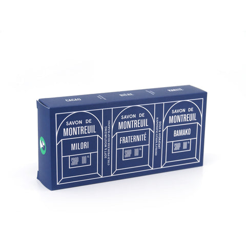 Pack of 3 Montreuil Soaps-Soap Bar-Le Baigneur-Totem Store