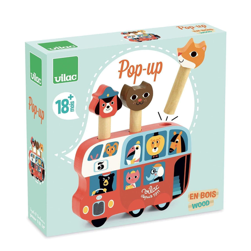 Pop-up bus by Ingela P.Arrhenius - Learning Toy - Vilac - Totem Store