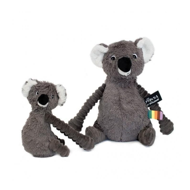 Ptipotos the Koala-Plush-Les Déglingos-Grey-Totem Store