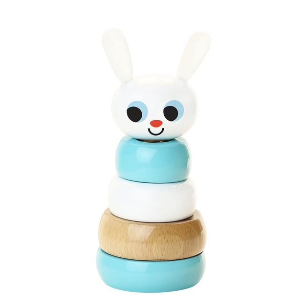 Rabbit stacking toy by Ingela P.Arrhenius-Learning Toy-Vilac-Totem Store