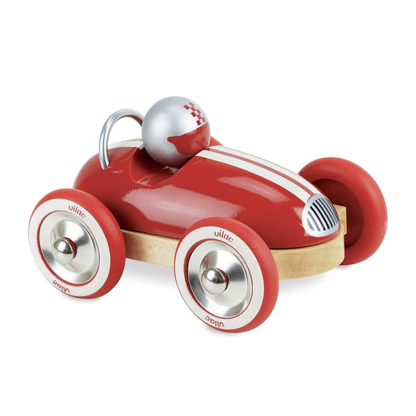 Red Vintage Roadster Car-Car Toy-Vilac-Totem Store