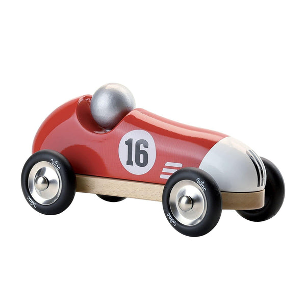 Red Vintage Sport Car-Car Toy-Vilac-Totem Store