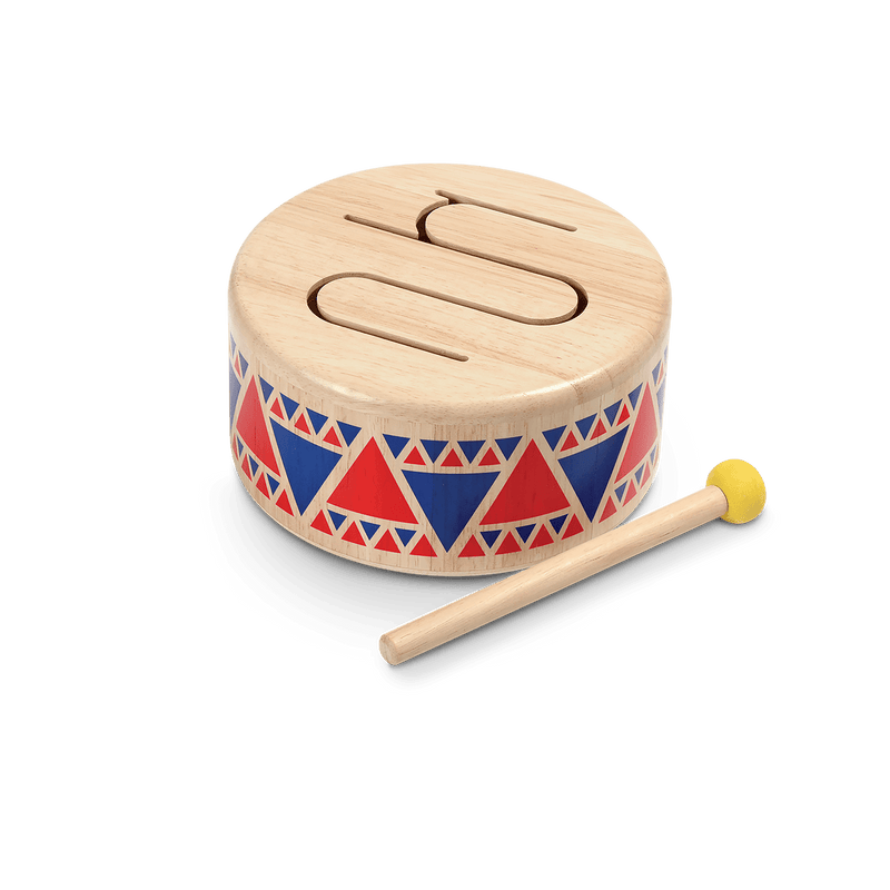 Solid Drum - Musical Toy - Plan Toys - Totem Store