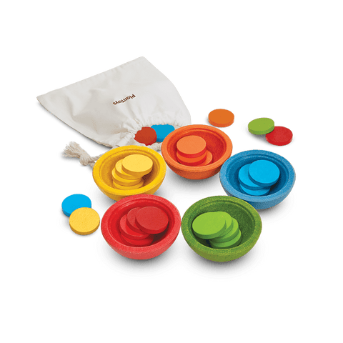 Sort & Count Cups-Learning Toy-Plan Toys-Totem Store