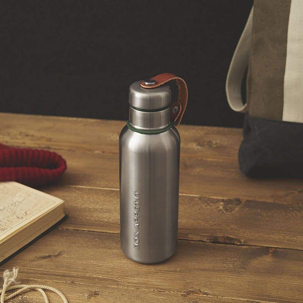 Stainless Steel Insulated Bottle-Insulated Bottle-Black+Blum-Olive-500ml-Totem Store