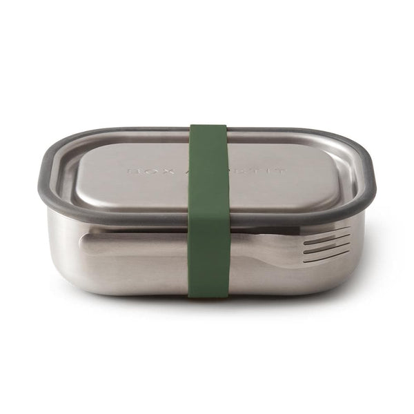 Stainless Steel Lunch Box-Lunch Box-Black+Blum-Olive-Totem Store