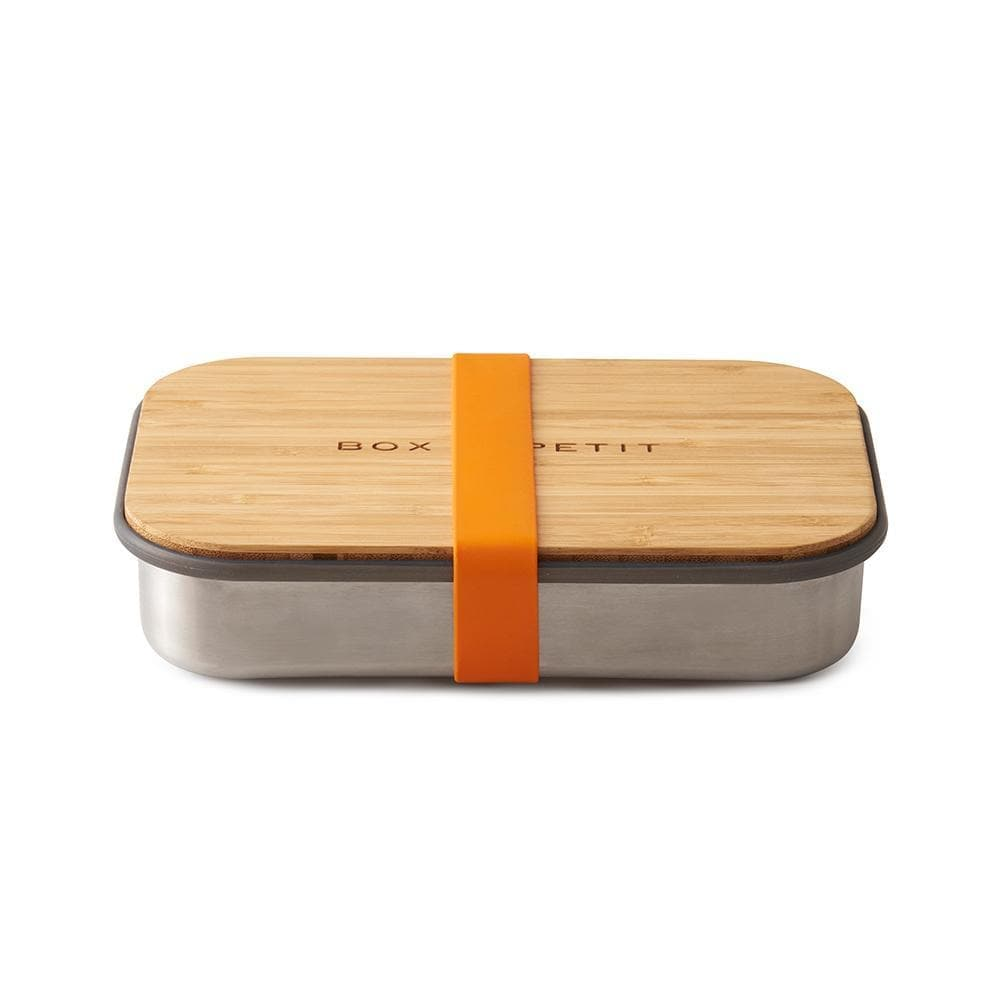 Stainless Steel Sandwich Box-Lunch Box-Black+Blum-Orange-Totem Store