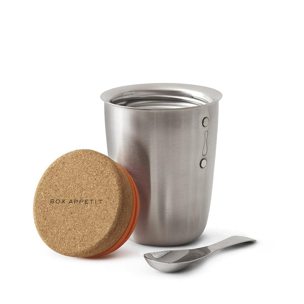 Stainless Steel Thermo Pot-Food Flask-Black+Blum-Totem Store
