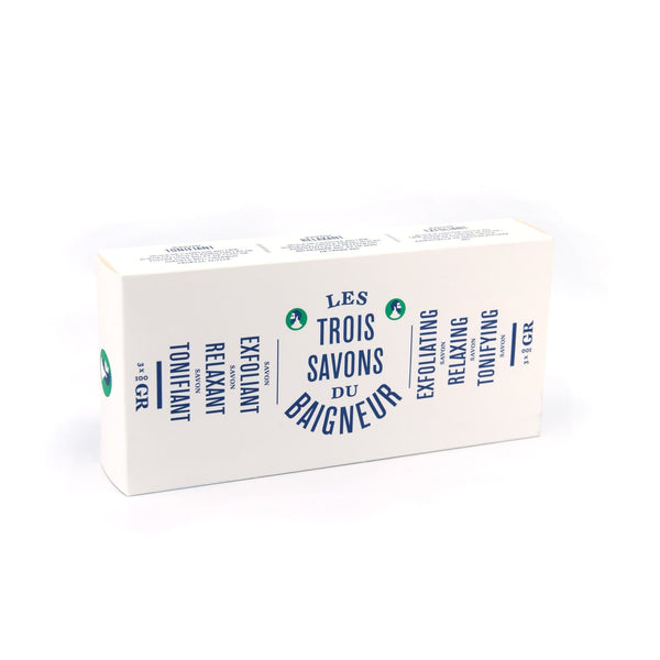 The Three Soaps - Soap Bar - Le Baigneur - Totem Store
