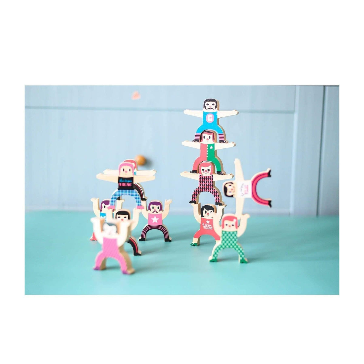 Tightrope walker by Ingela P.Arrhenius-Game-Vilac-Totem Store