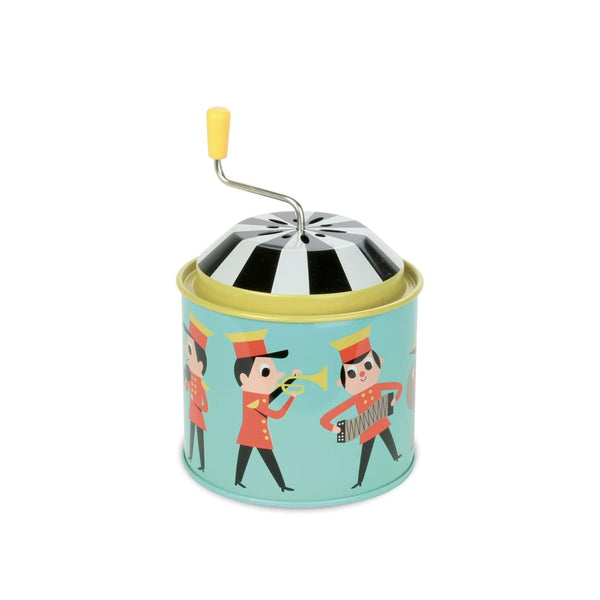 Tin music box orchestra  by Ingela P.Arrhenius-Musical Toy-Vilac-Totem Store