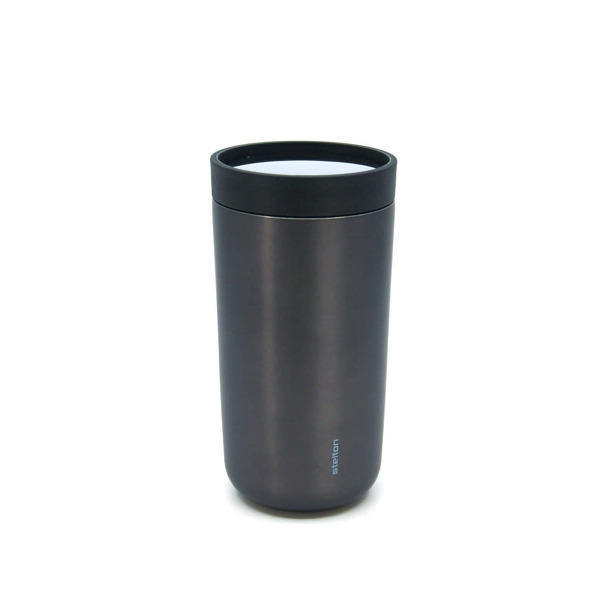 To Go Click Travel Mug - 200ml-Reusable Cup-Stelton-Black-Totem Store