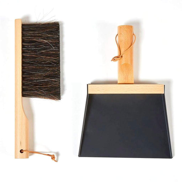 Traditional Dustpan & Brush-Sweeping Brush-Andrée Jardin-Black-Totem Store