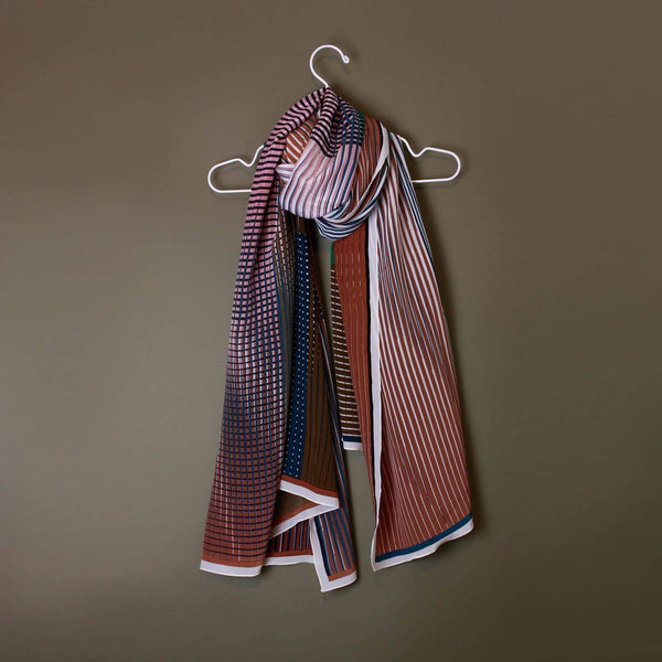Vibrant Caramel Scarf-Scarf-Mapoésie-Totem Store
