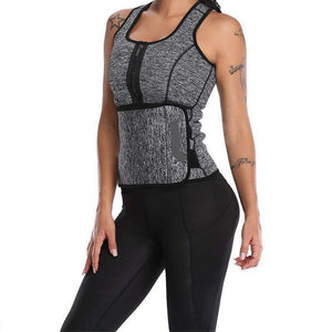 Waist Trainer Corset Sweat Vest Body Shapewear