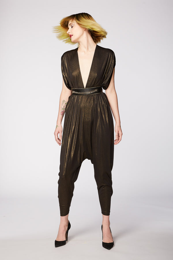 BLACK GOLD PLAYsuit