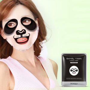 Moisturising Fun Face Mask; Tiger, Panda, Sheep, Dog. - bluepier