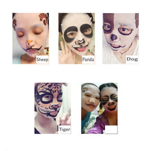 Load image into Gallery viewer, Moisturising Fun Face Mask; Tiger, Panda, Sheep, Dog. - bluepier