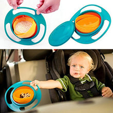 Load image into Gallery viewer, Anti-Spill Gyro Technology Baby Bowl - bluepier