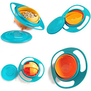 Anti-Spill Gyro Technology Baby Bowl - bluepier