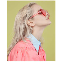 Load image into Gallery viewer, Love Heart Shaped Festival 90s Sunglasses - bluepier