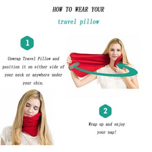 Load image into Gallery viewer, Upright Travel Pillow - bluepier