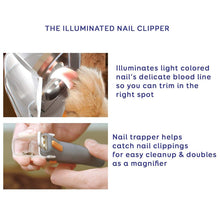 Load image into Gallery viewer, Professional Pet Nail Clippers Illuminated - bluepier