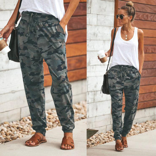 Slim Camo Pants - bluepier