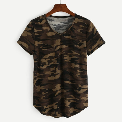 Camo T Shirt - bluepier
