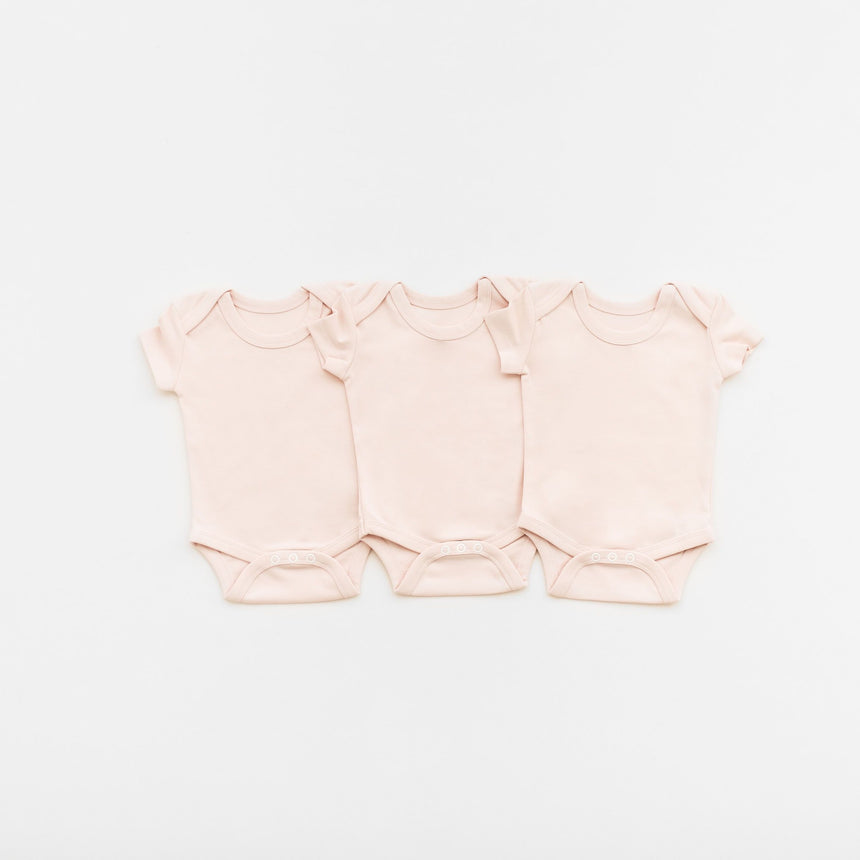 3 Bodysuits - Pink - Isaac Anthony