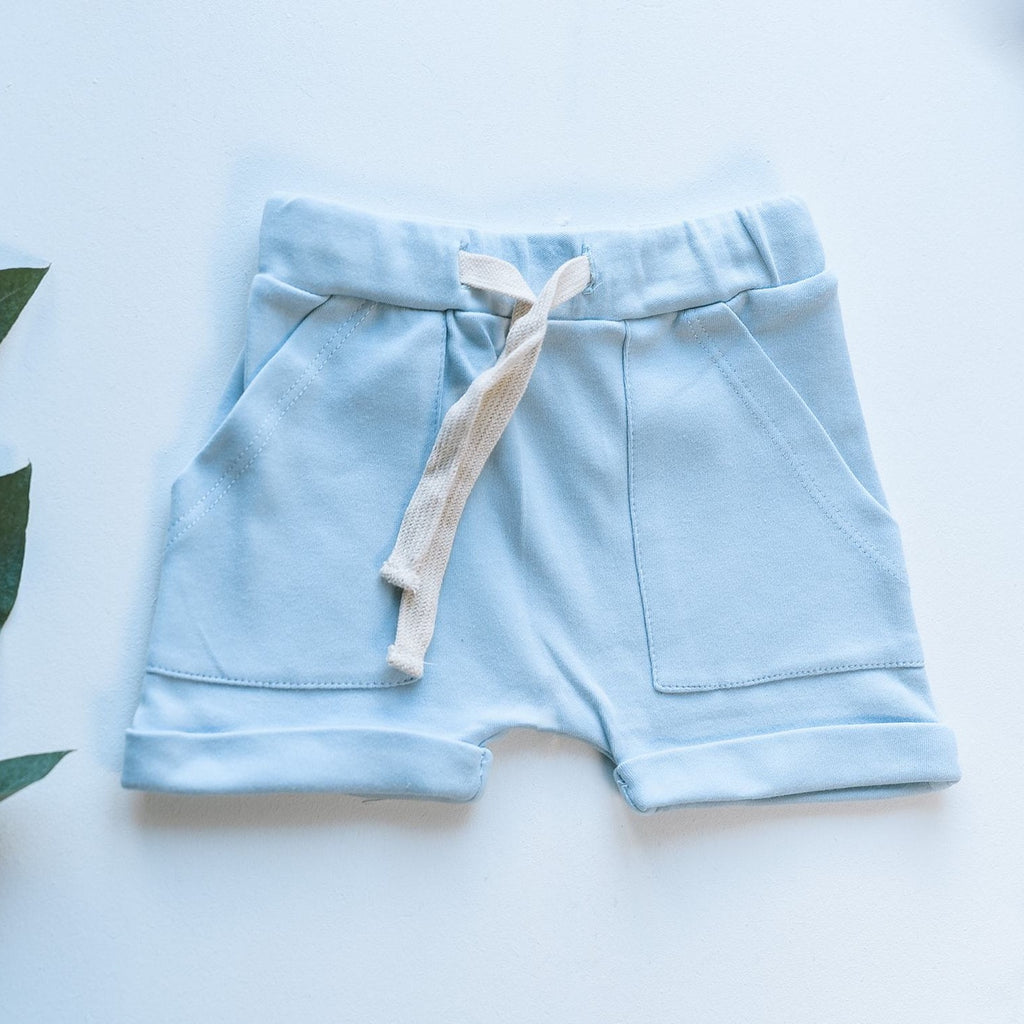 Shorts - Blue - Isaac Anthony