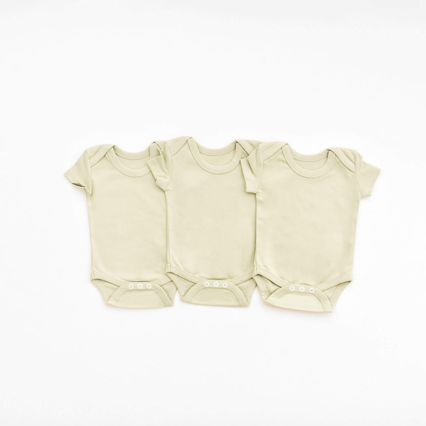 3 Bodysuits - Sage - Isaac Anthony