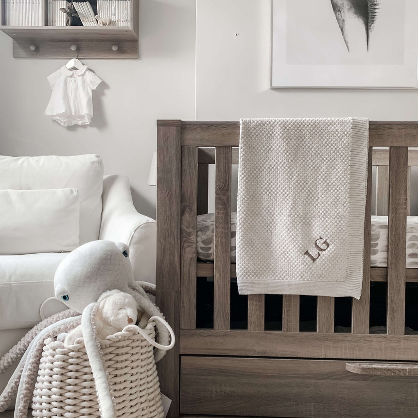 Blanket - Light Grey - Isaac Anthony