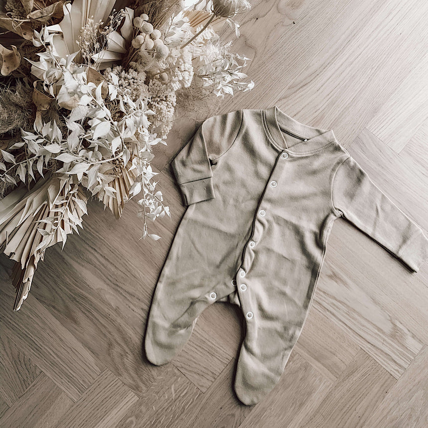 Sleepsuit - Beige - Isaac Anthony