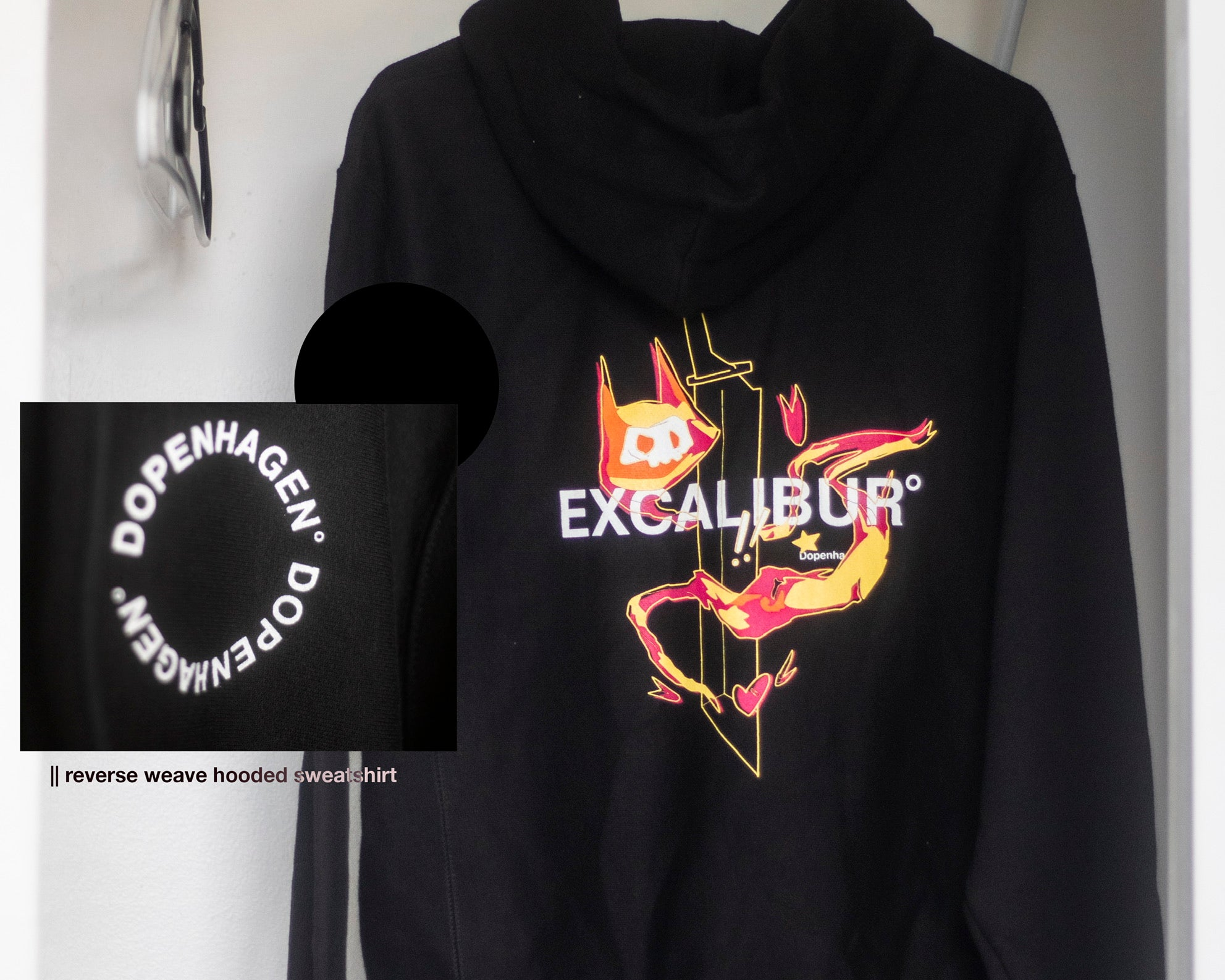 Excalibur - Reverse Weave Pullover Hooded Sweatershirt [ champion ]